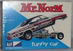 MPC  Mr. Norm Funny car  box art