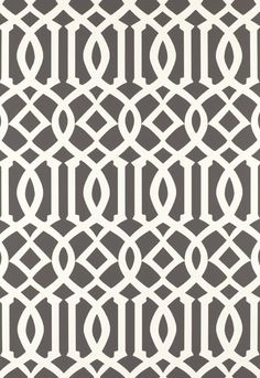 Imperial Trellis Charcoal Wallpaper 5003361 by Schumacher Wallpaper Trellis Wallpaper, Fabric Wallpaper, Of Wallpaper, Cream Wallpaper, Silver Wallpaper, Wallpaper Ideas, Textures Patterns, Print Patterns, Charcoal Wallpaper