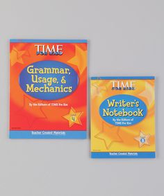 Take a look at this Writer's Notebook & Grammar, Usage & Mechanics: Grade 4 on zulily today!