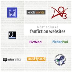 If you missed it: Most popular #fanfiction websites