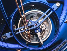 "De Bethune DB28T Tourbillon ""Kind of Blue"" Watch - by Kenny Yeo - See the bluest addition yet to the DB28 collection at: aBlogtoWatch.com - ""De Bethune is just about 14 years old, which in watchmaking terms amongst old names makes it no more than a young upstart. That said, this young upstart has already made a name for itself by producing some of the most striking and technically interesting watches of modern times..."""