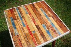Yardstick Table