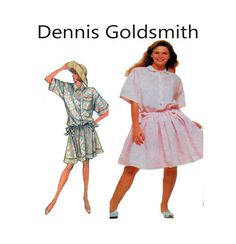 Dennis Goldsmith Simplicity 8589 Drop Waist by FindCraftyPatterns