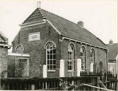 oude foto's winsum groningen - Google zoeken Joodse Synagoge: N.A. de Vries gebouw