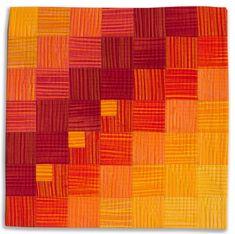 A portfolio of textile art from Diane Melms Compex Cloth series.