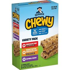 Quaker Chewy Granola Bars 58-Count Box as low as $9.02! Low Sugar Granola, Chewy Granola Bars, Gourmet Recipes, Snack Recipes, Best Breakfast Recipes, Pop Tarts, Grocery Deals, Shopping Deals, Healthy Snacks