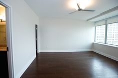 Master Bedroom in our 1810 square foot, Two Bedroom, Two Bath, Luxury Loft @ 10 Lafayette, Buffalo, NY.