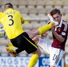 Livingston Captain Jason Talbot Faces Retrospective Punishment For Studding Hearts Midfielder IN THE FACE (Photos & Video)