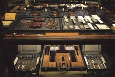 Prada's early cases, clutches, combs and brushes made of ivory, silk, tortoiseshell and leather.   - HarpersBAZAAR.com