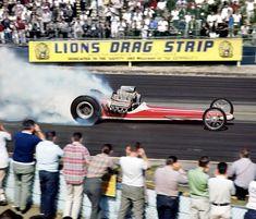 Vintage Drag Racing - Dragster - Lions Drag Strip