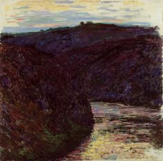 Valley of the Creuse, Claude Monet