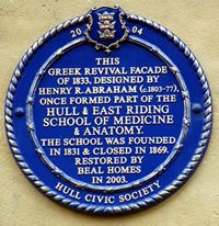 Heritage plaque****in Hull..uk...