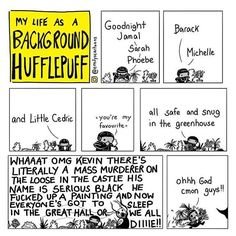Can't a Hufflepuff just have a quiet night in with his plants?