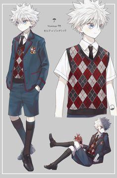 Killua, Hisoka, Zoldyck, Anime W, Fanarts Anime, Kawaii Anime, Hunter X Hunter, Hunter Anime, Hxh Characters