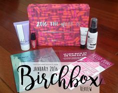 Birchbox Review - January 2016 | Teacups & Travels January 2016, Ecommerce Hosting, Teacups, Lifestyle Blog, About Me Blog, How To Plan, Travel, Viajes, Destinations
