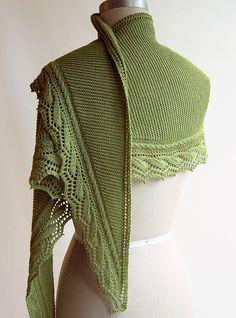 Ravelry: Millrace shawl pattern by Elizabeth Doherty//use Tern