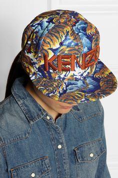 fca3e569da3 KENZO - New Era tiger jungle-print twill cap
