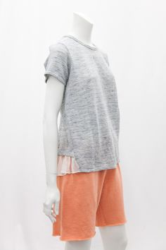 Clu - Ruffled Short Sleeve  Top, $184.00 (http://www.cluusa.com/ruffled-short-sleeve-top-1/)