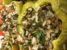 Bison stuffed peppers #glutenfree #dairyfree