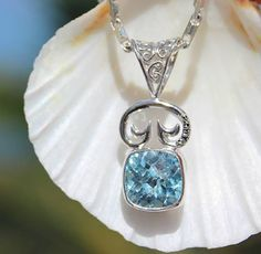Enter for your chance to win this gorgeous pendant from #vibecollection #saintjohn #usvi #pendant #travel #bluetopaz
