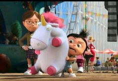 Its so fluffy I'm gonna die!! movie Despicable Me