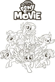 My Little Pony The Movie Coloring Page Queen Novo And