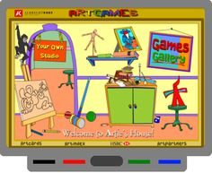SMART BOARD - Art Games