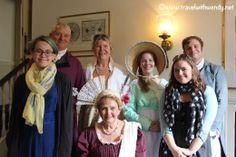 ©Travel with Wendy  Lunch at Longbourne Jane Austen Festival Bath, England 7 Sensible things to do in Bath! www.travelwithwendy.net