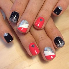Trophy Wife Nail Art #nail #nails #nailart