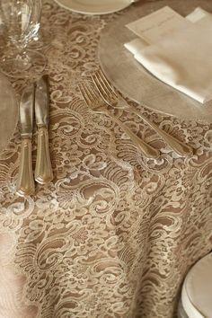 Love this linen! ana-rosa: via:http://desdemventana.blogspot.com.br/