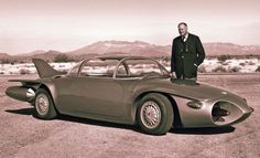 Harley Earl to be re-inducted into Automotive Hall of Fame - Firebird II concept car