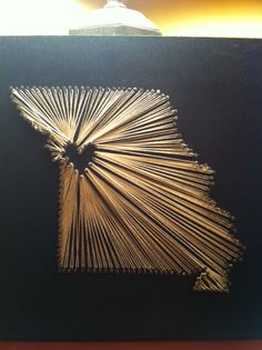 Another beautiful nail and string art highlighting your hometown and home state! Choose your background color, size, and string type and this can be YOURS!! www.etsy.com/shop/GiftsByReagan for more information and other awesome items!
