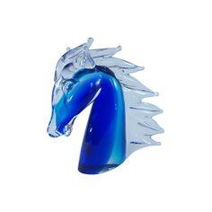 Murano Glass Horse Head #huntersalley