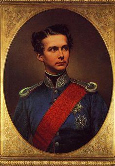 Born August 25, 1845: King Ludwig II of Bavaria Repinned by www.gorara.com