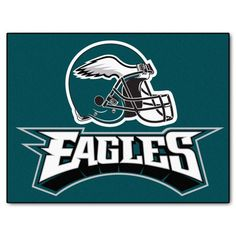 FANMATS NFL Philadelphia Eagles Nylon Face Starter Rug: Decorate your home or office with area rugs by FANMATS. nylon carpet and non-skid Duragon® latex backing. Officially licensed and chromojet painted in true team colors. The Eagles, Eagles Nfl, Eagles Philly, Eagles Jersey, Eagles Fans, Nascar, Philadelphia Eagles Helmet, Jerseys Nfl, Saints