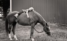 little girls and horses just belong together!
