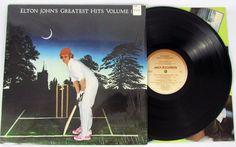 Elton John Greatest Hits Volume II MCA-3027 LP Vinyl Record Album VG++ Shrink…