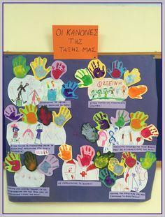 Η ζωή στο Νηπιαγωγείο!: Κανόνες στο νηπιαγωγείο Class Rules, Back To School, Preschool, Teaching, Frame, Blog, Picture Frame, Kid Garden, Blogging