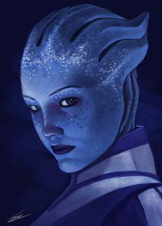 Mass Effect Liara by Misscandypants