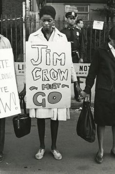 Hmmm, but Phil Robertson said that black people were happy with Jim Crow laws. Photo by: Bruce Davidson