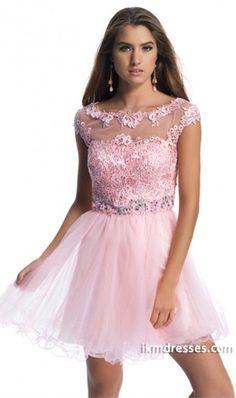 http://www.ikmdresses.com/2014-Prom-Dresses-Scoop-Neckline-Off-The-Shoulder-Short-Mini-A-Line-Tulle-Beaded-p82841