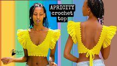 Crochet Crop Top, Knit Crochet, Crochet Clothes, Simple Designs, Crochet Patterns, Crop Tops, Knitting, T Shirt, Top Pattern