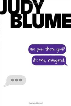 Are You There God? It's Me, Margaret. - Judy Blume. Shopswell | a book that takes you back in time...