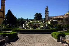 Floral clock - Mexico
