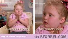 Honey Boo Boo Understands…