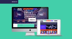 Visual Identity, website and print/digital designs for a Pan Asian Annual Award Festival for the Event Management Industry.