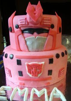 Arcee Transformer By Brettley on CakeCentral.com
