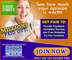 Make Money Online With Verified Programs Get Paid For Surveys, Take Surveys, Make Money From Home, Make Money Online, How To Make Money, Survey Websites, Cool Websites, Cash Now, To Loose