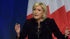 Wahlkampf in Frankreich startet: Le Pen wettert gegen EU und Flüchtlinge