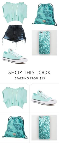 """Summer Outfit"" by johanna-carolina ❤ liked on Polyvore featuring Alexander Wang, Converse and Dakine"